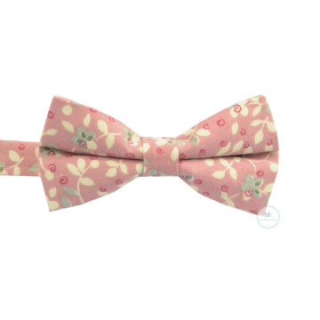 Floral Bow Tie in Pink image