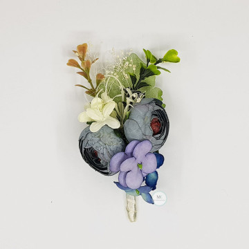 Peony Flower Boutonniere image