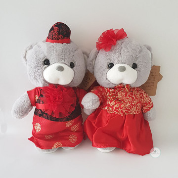 Traditional Wedding Bear image