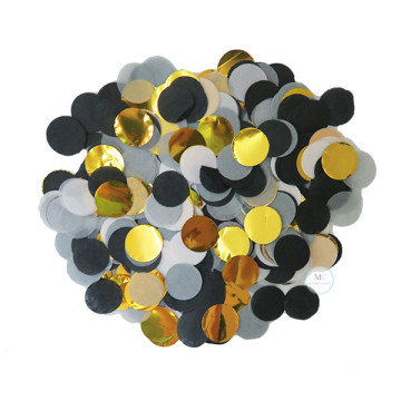 Circle Confetti [Black Glam] image