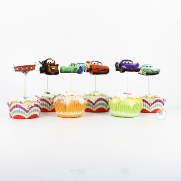 Disney Cars Cupcake topper image