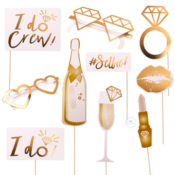 I Do 10PCS Set set Photobooth Prop image