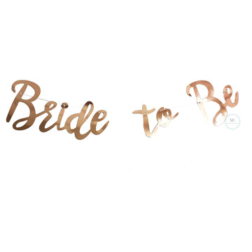 Bride to be Script Banner image