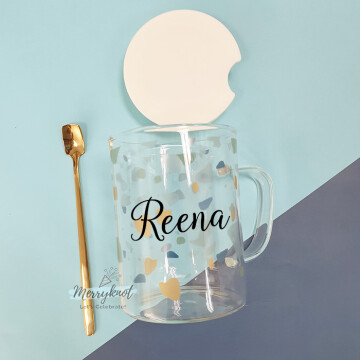 Customise Glass Mug image
