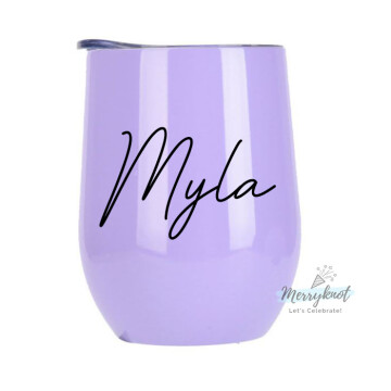 Customise Insulated Eggshell Cup [Lilac] image